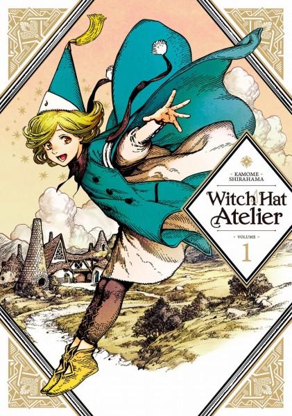 『とんがり帽子のアトリエ』英語版表紙